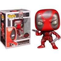 Фигурка POP Marvel 80th - Deadpool (Metallic)
