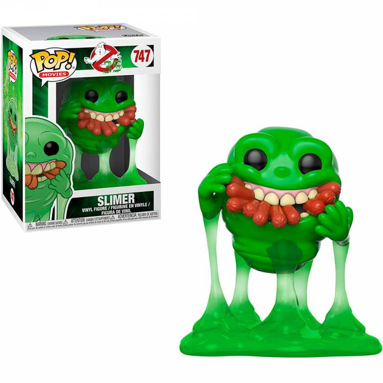 Фигурка POP Movies: Ghostbusters - Slimer with Hot Dogs