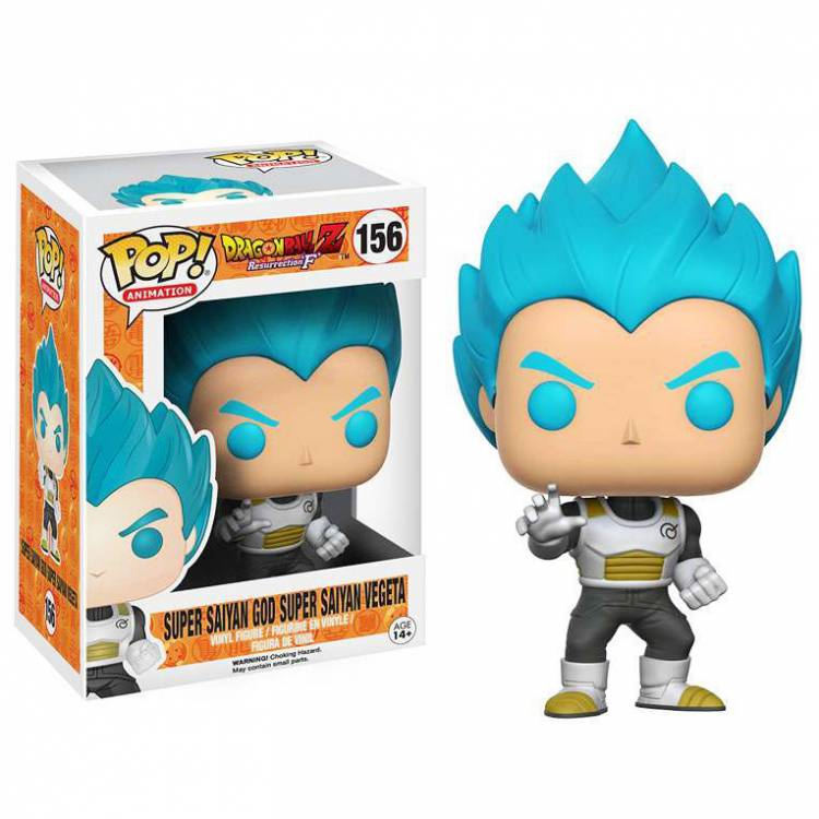 Фигурка POP Anime: Dragon Ball Z - Super Saiyan God Super Saiyan Vegeta