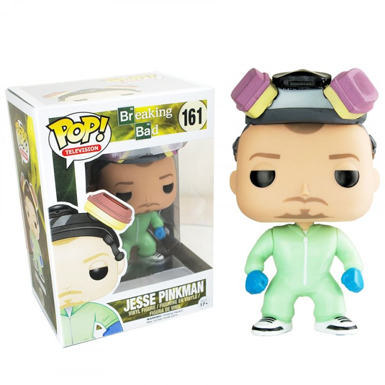Фигурка POP Breaking Bad Jesse Pinkman Green Cook Suit