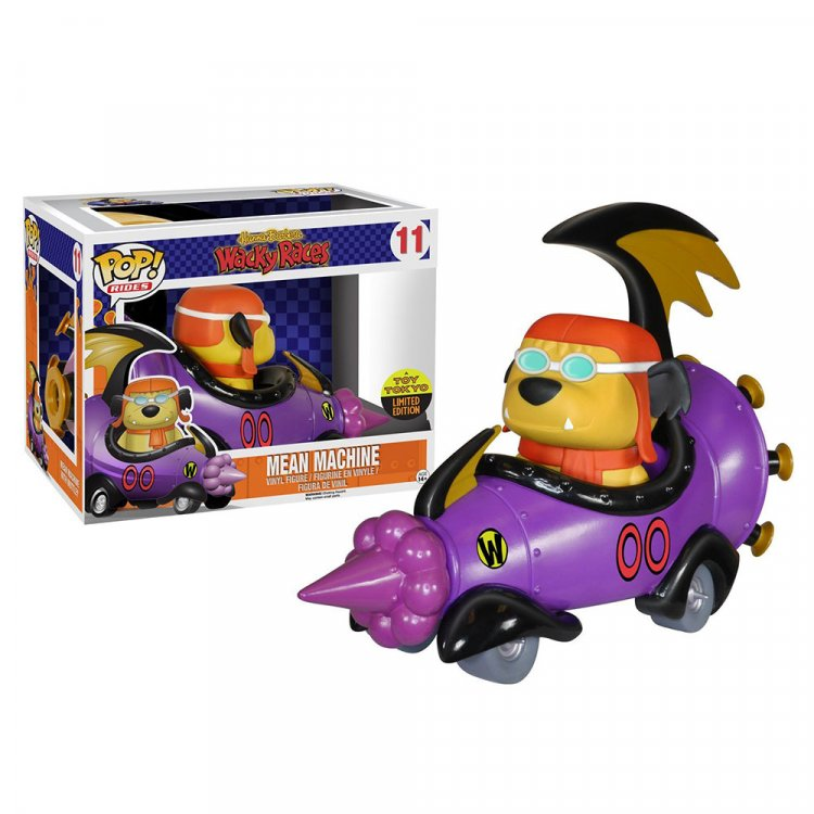 Набор фигурок POP Rides: Hanna Barbera - Mean Machine with Goggled Muttley
