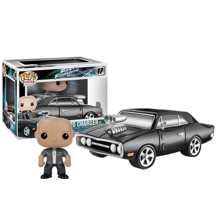 Набор фигурок POP Rides: Fast & Furious - Charger