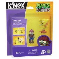 Конструктор K'nex Plants vs. Zombies - Pirate Ship