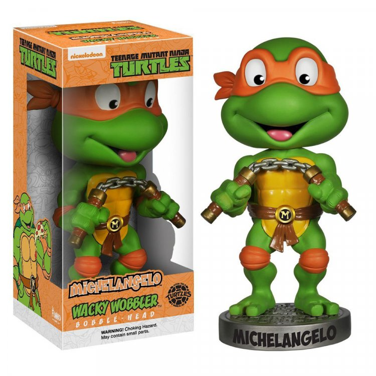 Фигурка Teenage Mutant Ninja Turtles - Michelangelo Wacky Wobbler