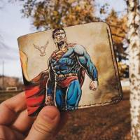 Кошелек DC Comics - Superman Custom [Handmade]