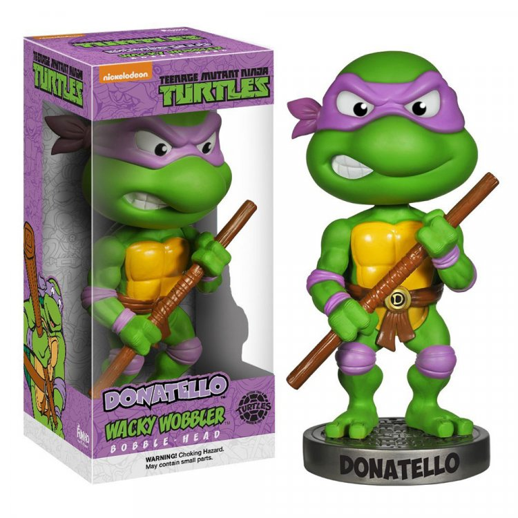 Фигурка Teenage Mutant Ninja Turtles - Donatello Wacky Wobbler
