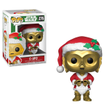 Фигурка POP Star Wars: Holiday - C-3PO as Santa