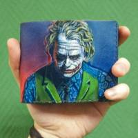 Кошелек DC Comics - Joker Heath Ledger Custom [Handmade]