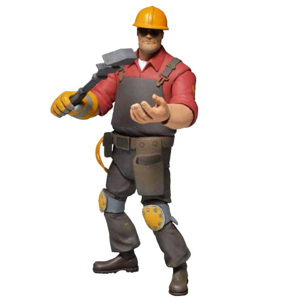 Фигурка Team Fortress Series 3 Red Engineer
