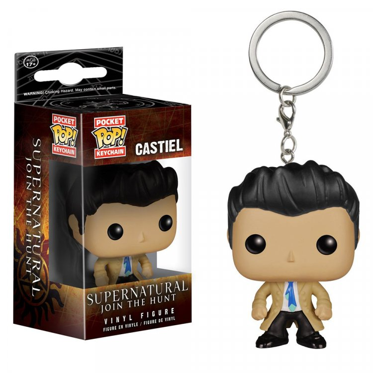 Брелок POP TV: Supernatural - Castiel