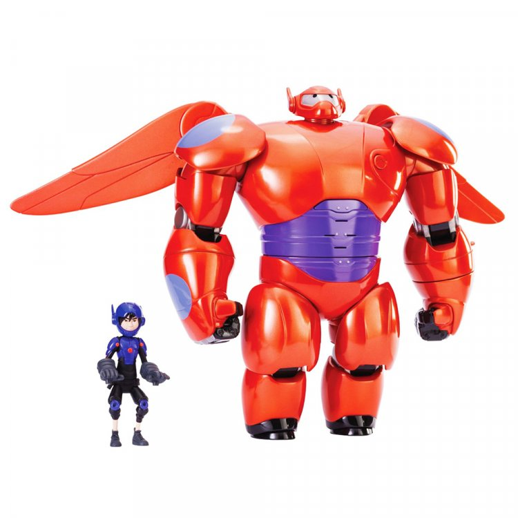 Набор фигурок Big Hero 6 Deluxe Flying Baymax with Hiro