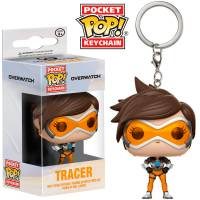Брелок Pocket POP Keychain: Overwatch - Tracer