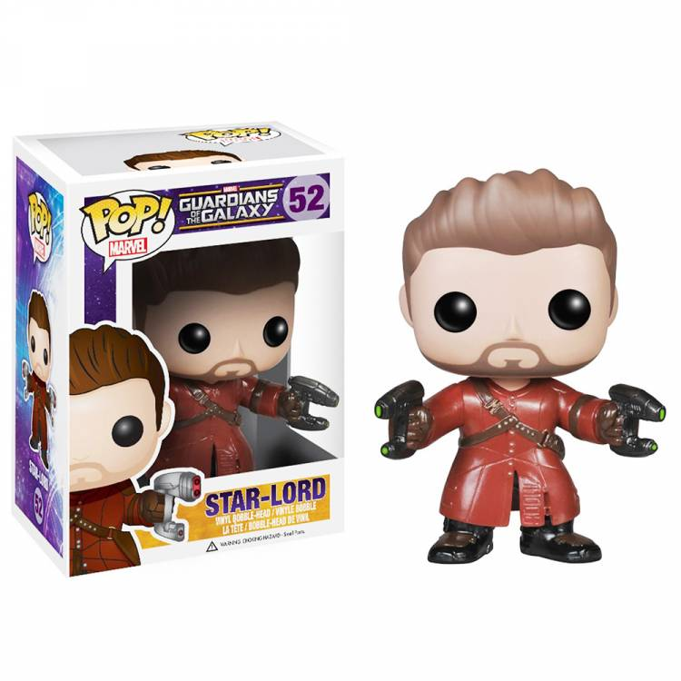 Фигурка POP Guardians of The Galaxy Unmasked Star Lord Exclusive