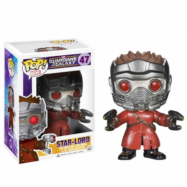 Фигурка POP Marvel: Guardians of The Galaxy - Star Lord