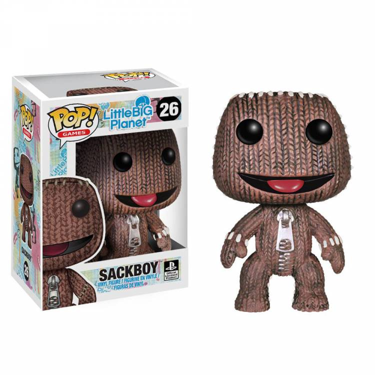 Фигурка POP Games: LittleBigPlanet - Sackboy