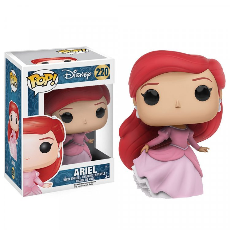 Фигурка POP Disney: The Little Mermaid - Ariel (Red Dress)