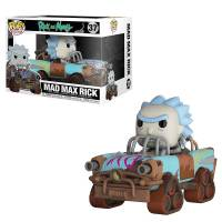 Набор фигурок POP Rides: Rick and Morty - Mad Max Rick
