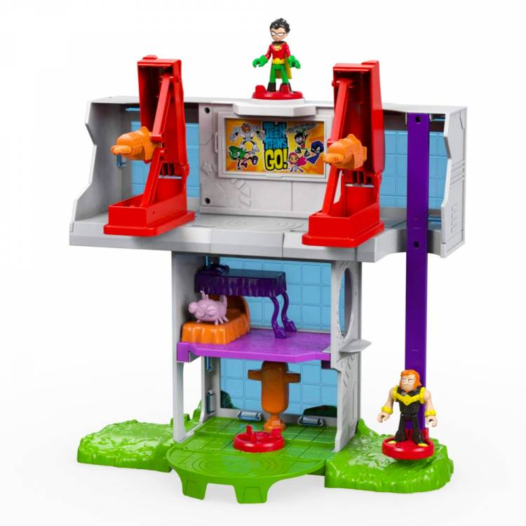 Набор фигурок Teen Titans Go - Tower Playset