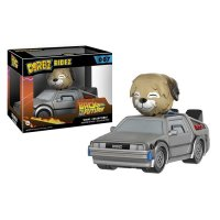 Набор фигурок Dorbz Ridez: Back to the Future - Delorean