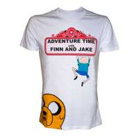 Футболка Adventure Time - Finn and Jake