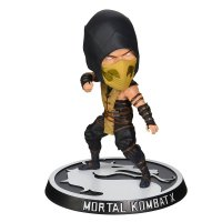 Фигурка Mezco: Mortal Kombat - Scorpion Bobble Head