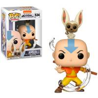 Фигурка POP Animation: Avatar - Aang with Momo