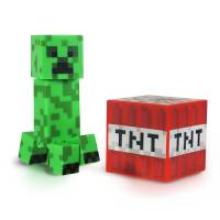 Фигурка Minecraft - Core Creeper with Accessory