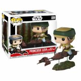 Фигурка POP Deluxe Star Wars: Leia on Speeder Bike