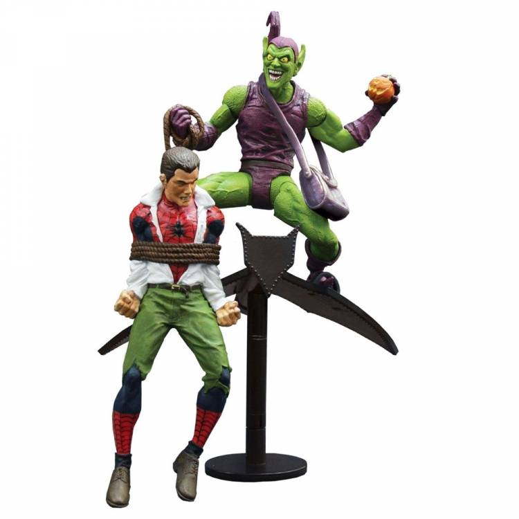 Фигурка Marvel Select: Classic Green Goblin vs. Spider Man