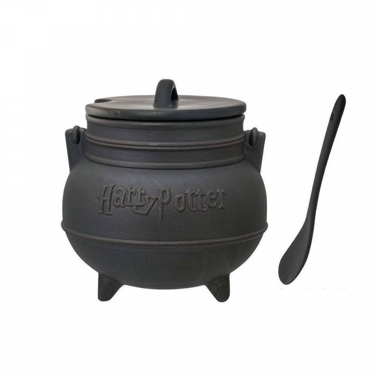 Кружка Harry Potter - Black Cauldron with Spoon