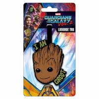 Багажная бирка Marvel: Guardians of the Galaxy Vol. 2 - I am Groot