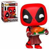 Фигурка POP Marvel: Holiday - Deadpool with Turkey