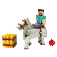 Набор фигурок Minecraft - Steve with White Horse
