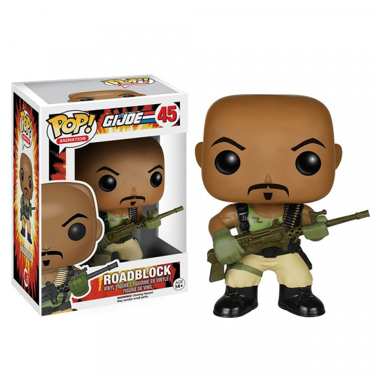 Фигурка POP TV: G.I. Joe - Roadblock