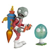 Набор фигурок Plants vs Zombies 2 - Jetpack Zombie with Infi-nut