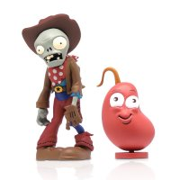 Набор фигурок Plants vs Zombies 2 - Cowboy Zombie with Chili Bean