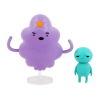 Набор фигурок Adventure Time - Lumpy Space Princess & Brad