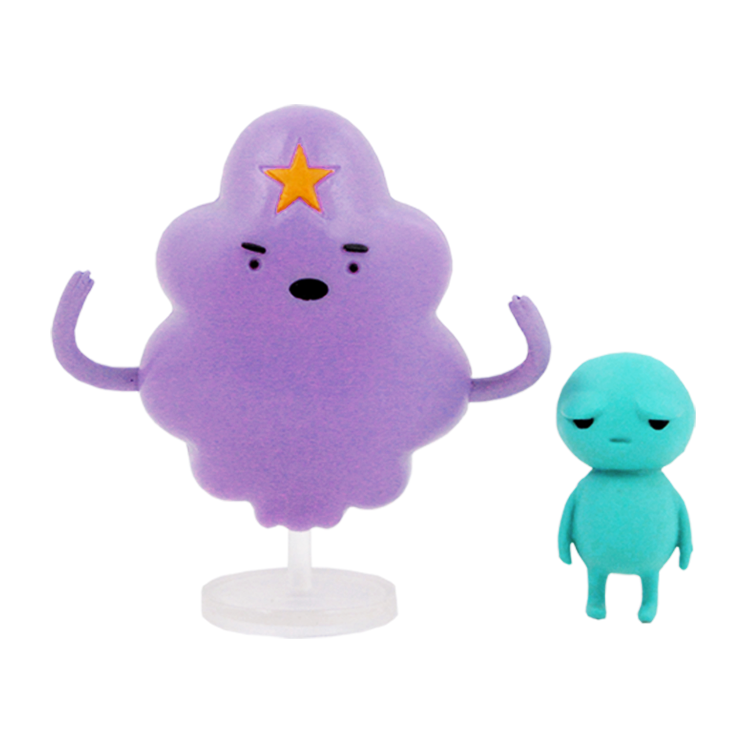 Набор фигурок Adventure Time Lumpy Space Princess & Brad