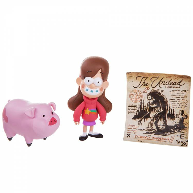 Набор фигурок Disney Gravity Falls Mabel & Waddles
