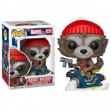 Фигурка POP Marvel: Rocket (Holiday)