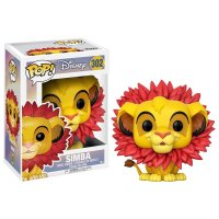 Фигурка POP Disney: The Lion King - Simba (Leaf Mane)