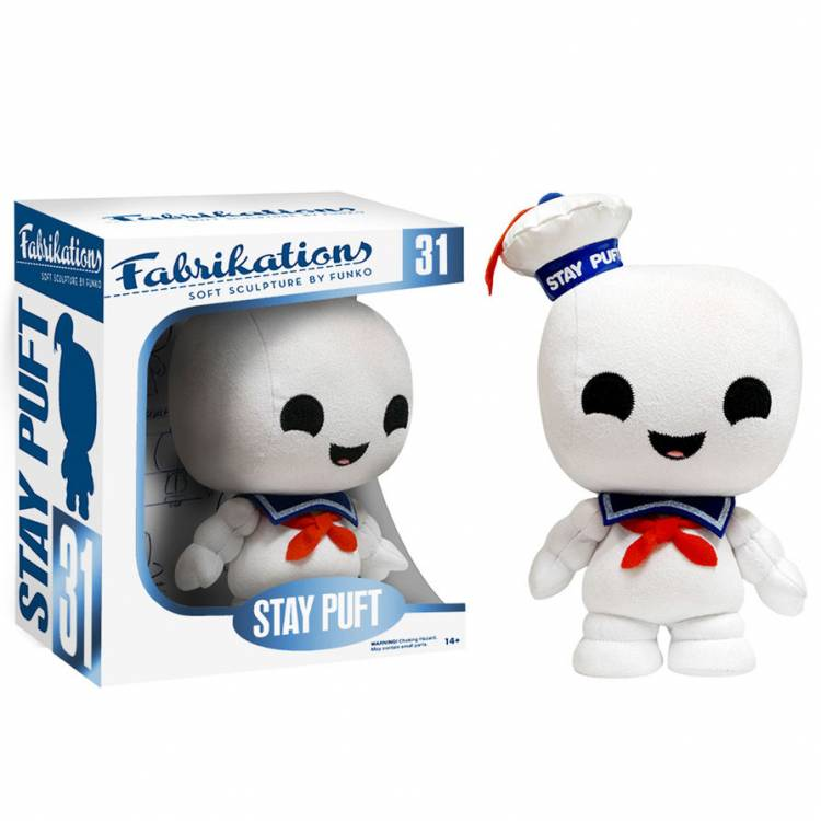 Мягкая игрушка Fabrikations: Ghostbusters - Stay Puft