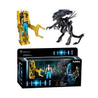 Набор фигурок Reaction: Aliens Ripley, Power Loader, Queen