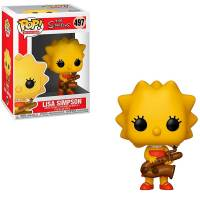 Фигурка POP TV: The Simpsons - Lisa Simpson with Saxophone