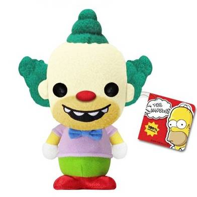 Мягкая игрушка The Simpsons - Krusty The Clown
