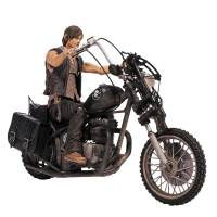 Фигурка Walking Dead Deluxe Daryl Dixon & Chopper