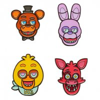 Набор значков Five Nights At Freddy's Collectible Face Set