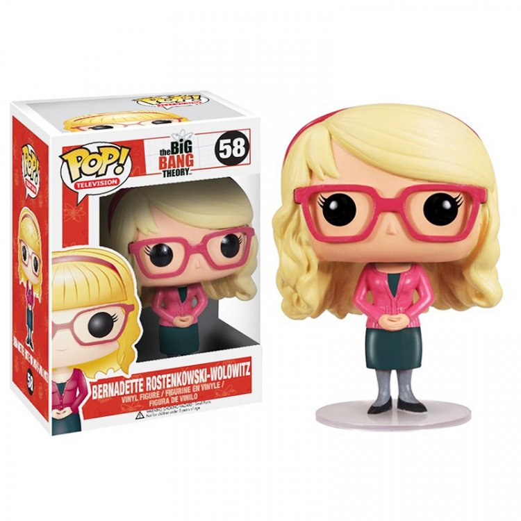 Фигурка Pop! Big Bang Theory Bernadette Rostenkowski-Wolowitz