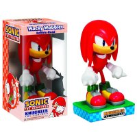 Фигурка Sonic The Hedgehog Knuckles Wacky Wobbler