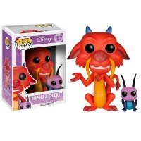 Фигурка Funko POP Disney: Mulan: Mushu & Cricket